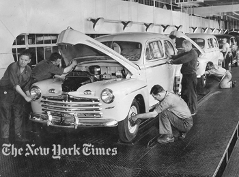Ford Edgewater Assembly Plant New Jersey