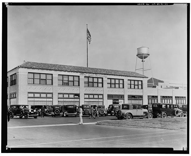 Apr 21, 1930, OFFICE BUILDING - OPENING DAY OF THE FORD LONG BEACH